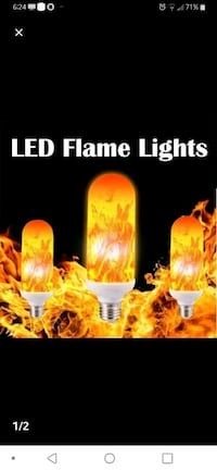 LED FLAME BULB Dover, 17315