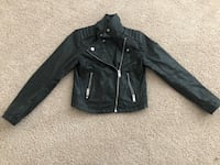 Little Girls H&M Leather Jacket Sz 8-9 Stafford, 22554