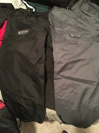 2 pairs of kids snow /skating pants Size Medium