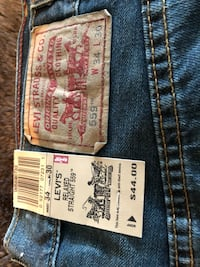 Levi jeans , brand new , 34/30 relaxed straight Oakville, L6M 3P3