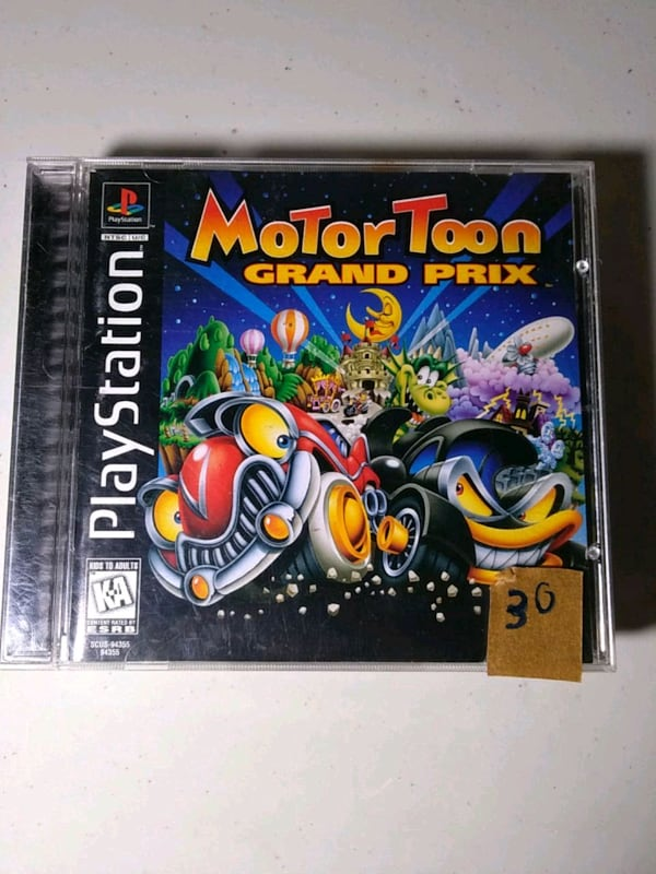 Motor toon grand prix ps1 playstation game 9a937d9e-e8a0-4f29-b7f9-85bb9aac60ae