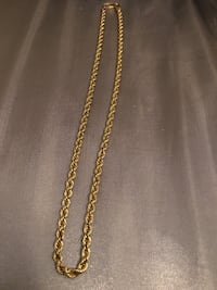 Real 10k gold necklace / 18 inches ( thick ) 10grams Kensington, 20895