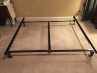 Adjustable steel bed frame Midlothian, 23112