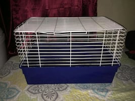 Small guinea pig/chinchilla/rabbit cage