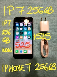 Trade or Firm $525 BL IPHONE 7 256GB+Charger10/10  Pointe-Claire, H9R 2Y7