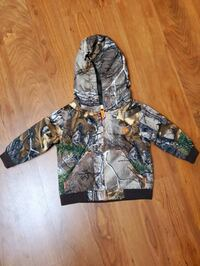Baby camouflage jacket 3-6 months