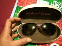 Juicy couture sunglasses with case Oklahoma City, 73108