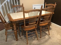 Dining Table with 5 Chairs Elkridge, 21075
