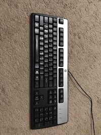 black and gray corded computer keyboard Herndon, 20170