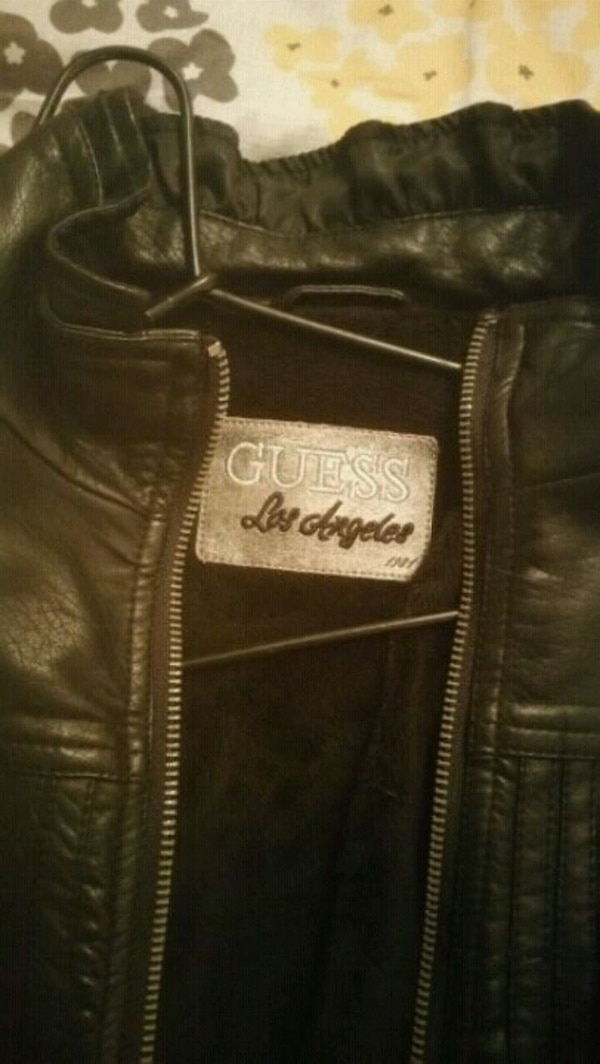 GUESS Faux Leather Jacket 0