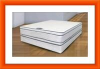 Queen mattress double pillowtop free box & ship Pikesville, 21208