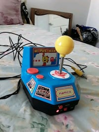 Ms Pac Man & other  games t.v. video arcade games