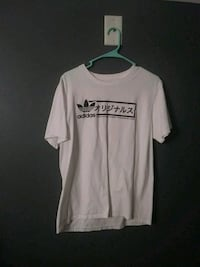 Adidas white and black crew-neck t-shirt Myrtle Beach, 29579