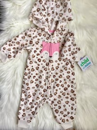 Baby girl Jumpsuit 0-3mos