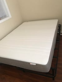 Full Size Mattress + Topper + Frame Washington, 20002