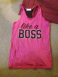pink and black tank top Glenwood, 51534