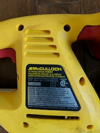 """McCulloch 18"""" hedge trimmer"""