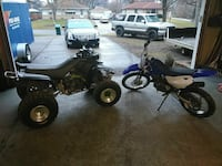 Trade dirt bike and quad for 4x4 atv