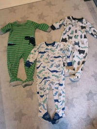 Assorted Carters Sleepers 18 mths  Elmvale, L0L