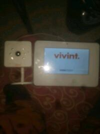 Vivint camera and  monitor and control unit