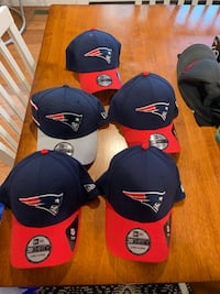 Selling 5 brand new New Era NE Patriots hats. $20ea or all 5 for $100. These retail close to $40ea. Middleboro, 02346