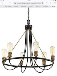 6-Light Chandelier Mississauga, L4W 2Y9