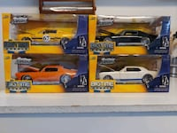 'Big Time Muscle' model cars