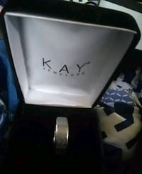 Size 10 stainless steel mens ring $60