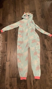 Soft unicorn onesie