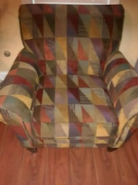 white, red, and green fabric sofa chair Douglasville, 30135