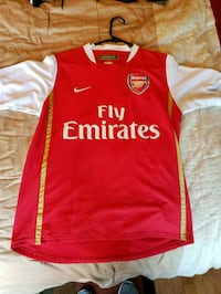 red and white Nike Fly Emirates jersey Alhambra, 91801