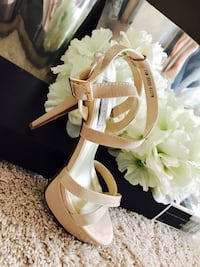 Andrea strappy platform sandal by Touch Ups
