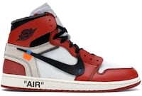 Off-White Air Jordan Chicago - Size 7