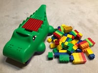 LEGO Duplo with crocodile carrying case $15