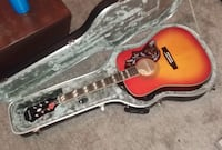 Epiphone Hummingbird Acoustic/Electric pro w/ Amp and Case Springboro