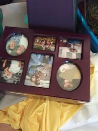 brown wooden collage photo frame Inwood, 25428