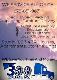 Furniture Moving And Delivery In Atlanta Letgo