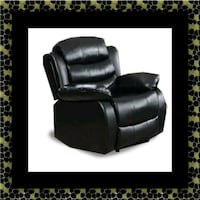 Black recliner chair Temple Hills