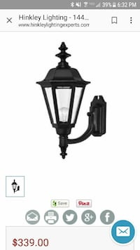 Manor House Cast Outdoor Lantern Fixture Chula Vista, 91910