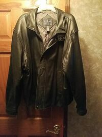 Men's large leather jacket Highland, 46322