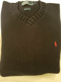 Navy Polo Ralph Lauren Sweater, size Large St. Louis, 63125