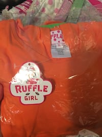 Size 6- brand new with tags Ruffle Girl two piece outfit- too cute!! Hamilton, 31811
