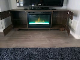 TV and TV/STAND FIREPLACE