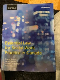 Essential Law for Social Work TEXTBOOK NO MARKINGS Toronto, M5K 2A1