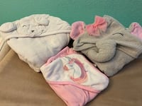 Hooded towels for baby