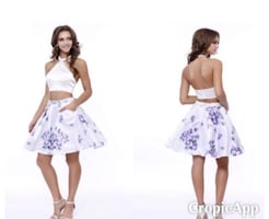 New With Tags Size Medium 2 Piece Dress $80