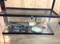 20 gal reptile tank with accessories  Red Deer, T4P