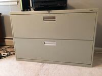 2 drawer commercial grade lateral file cabinet Alexandria, 22306