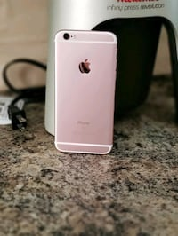 Rose gold iPhone 6 with case Edmonton, T6W 1S7