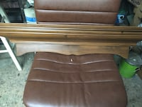 brown wooden bed headboard and footboard Montréal, H2G 2C1